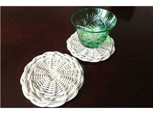 【埼玉県・さいたま市】~籐工芸~ 籐編み体験でペアのコースターを作成の紹介画像