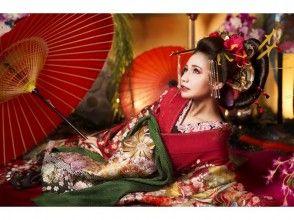"""[淺草,東京]名妓經驗,影棚拍攝""""撫子(高級)""""形象的計劃"""