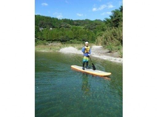 【四国・吉野川】気の向くままに川遊び♪リバーサップコース