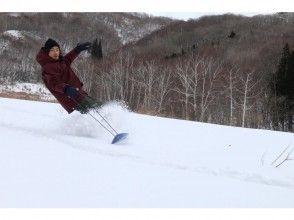 【群馬・水上・猿ヶ京温泉】雪遊び満載!スノーシュー&スノートイ(雪板)体験プラン