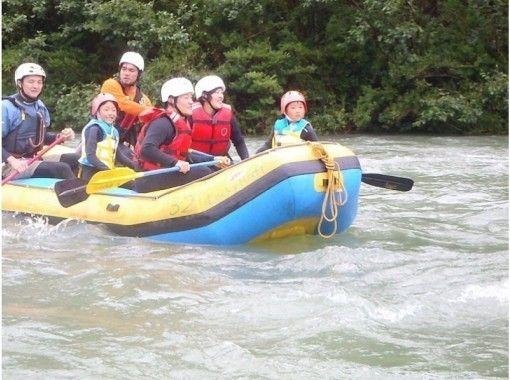【四国・吉野川】家族でのんびり川くだり♪写真データ付き!ラフティングファミリーコース