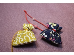 Go Toクーポン使えます【京都・二条城北】京都土産にぴったりの匂袋作り体験!観光の合間に気軽に体験できます!