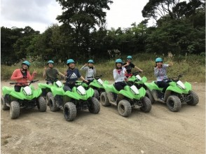University student limited 【Okinawa Nago】 Baggy drives round offroad surrounded by Yanbaru forest ※ No forest course 4 people ~