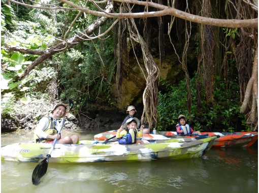 """Regional common coupon OK! Central main island, convenient access! Mangrove Kayak tour ★ Tour image gift! """"3 dense"""" measures are perfect! Both the day of arrival and the day of return!の紹介画像"""