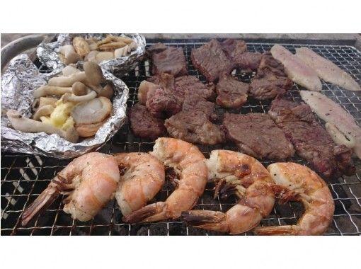 [Okinawa Nago] At the beach BBQ ♪ Marine sports are also fulfillingの紹介画像