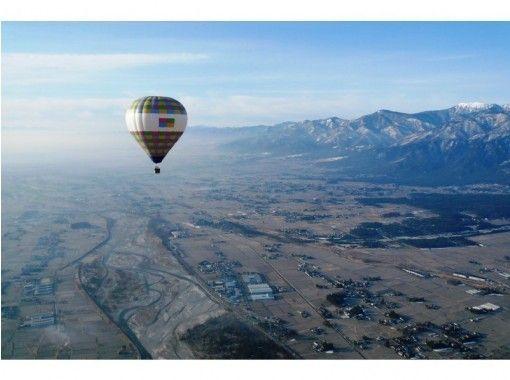 【長野・安曇野】安曇野气船 熱気球フリーフライト(自由飛行)アドベンチャー!の紹介画像
