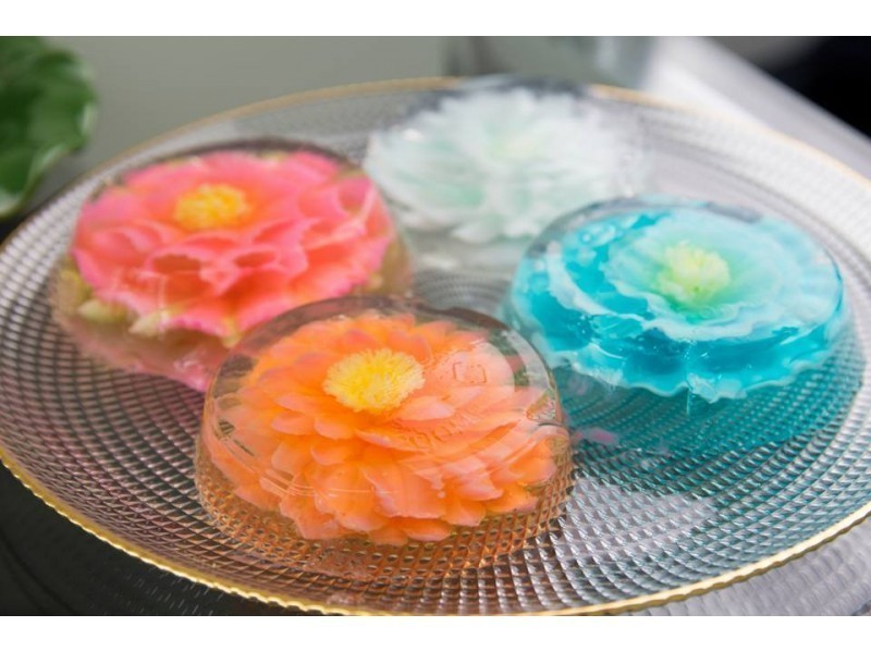 【Miyagi · Sendai】 Flower jelly experience class · Introduction of making deco sweets made