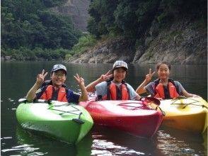 【島根・江の川】初心者でも安心!江の川でのんびりカヤック体験!