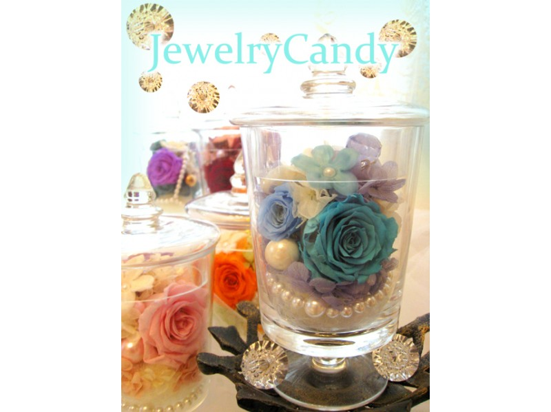 【Kanagawa · Yokohama】 Preserved Flower ★ Introduction picture of Jewelry Candy (single article lesson)