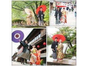 【石川県・金沢市・婚礼写真】金沢の和装(兼六園とひがし茶屋街)ロケーション