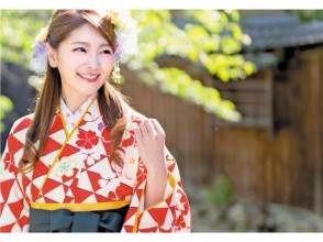 [Tokyo Asakusa] Ladies hakama Rental plan! Why don't you attend the graduation ceremony with a cute hakama?