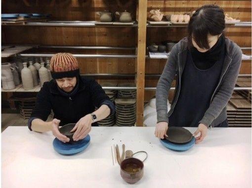 【岡山・備前】ヒダスキ焼成コース☆手びねり体験
