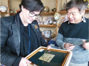 【広島・市街】浮世絵版画と着物古着の専門店めぐりツアー