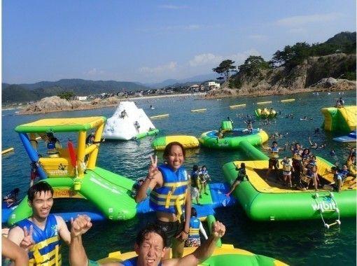 【鳥取・浦富海岸】日本最大級の海上アスレチックパーク!!フロリックシーアドベンチャーパーク浦富
