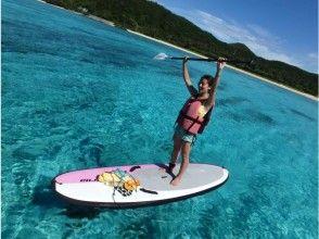 【沖縄・座間味】SUP&シュノーケル!プライベートビーチ半日ツアー