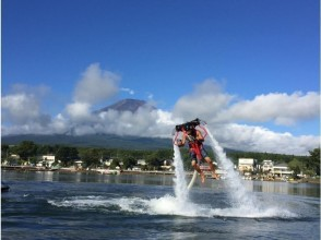 Only in Lake Yamanaka! Jet pack flying in the sky with water pressure! + SUP free Rental