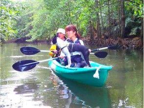 [沖繩西表島]紅樹獨木舟和獨木舟(河)課程
