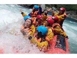 [Tokushima ・ Yoshino River ・ Rainfall River going down】 Yoshino River half-day course【 Rafting]