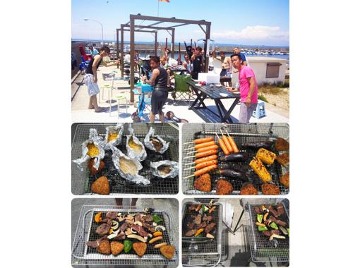 【大阪・関空前】海遊び満喫!大人気のSUPとBBQで1日贅沢プラン!写真・動画サービス