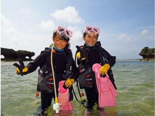 【8歳から参加可!】家族で体験。イノー(礁池)観察&スクーバ体験