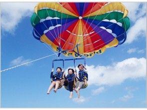 [沖繩北部出發]繩長200米美景美麗海滑翔傘! !形象