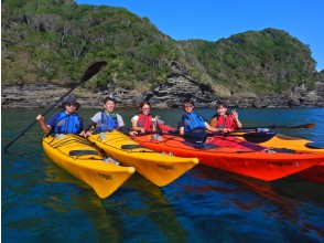 [Chiba ・ South Boso ・ 1 Sun Sea kayak Experience] Lunch included! The first one is also safe. one Sun Kayak Experience!