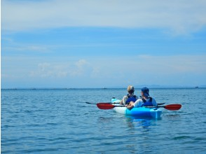 [Chiba-South Boso-Sea kayak 】 To the clear sea of the inner cell. Experienced tour