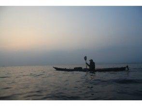 【千葉·南房總·海上皮划艇】內室的清澈海水。體驗之旅