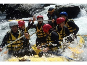 【 Tokyo · Tama River】 Refreshing Rafting × shower climbing tour with lunch (1 Sun course)