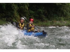 【 Tokyo · Tama River】 Refreshing Rafting × Inflatable Kayak tour lunch included ☆ (1 Sun course)