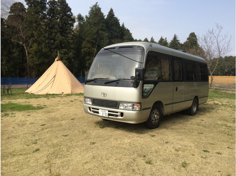 Aichi · Nagoya】 Camper car rental ☆ Large capacity bus con ...