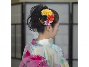 [奈良/奈良市]穿著和服(帶髮飾)情侶計劃可隨意探索奈良!從近鐵奈良站出發!