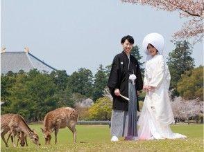 [奈良/奈良]婚禮前的地點照片!包括豐富的服裝,頭髮和化妝!