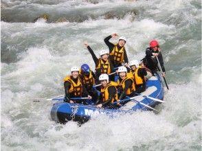 【富山・黒部川】5月3日~7月1日までの春のオープニングキャンペーンラフティングツアー(半日コース)