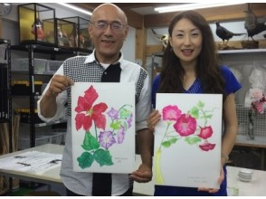 [Aichi/ Chita City] Let's do it with parents and children! Watercolor experience