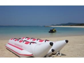 【沖縄・宮古島】どこよりも多くの遊びを提供!バナナ、マーブル、ウェイク、シュノ、ツーリング体験5種類セット! 超絶お得マリンパック2時間貸切