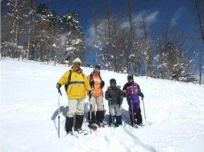 [山梨縣八岳]大家在雪鞋體驗!雪播放(週末,寒假期間限定計劃)家庭