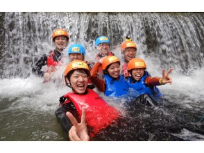 [Tochigi ・ Nasu】 In summer, it's in the river! shower Climbing Regular course 3 hours