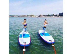 [Shonan ・ Dumplings】 adult Ki SUP Yoga! Refreshing your mind and body in the sea 【 half-day]
