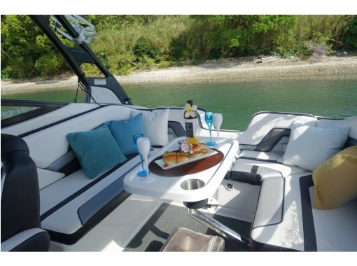 【浜名湖・クルージング】ウォーター☆ピクニック〈 湖上で楽しいピクニックプラン〉の紹介画像
