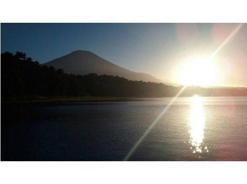 【山梨・河口湖】遊覧 モータボートで山中湖をクルージング