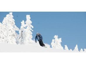 【八甲田山で樹氷の間をパウダーラン!】バックカントリツアー【半日コース】の画像