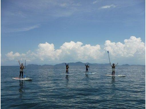 【滋賀・琵琶湖】レンタル込み!水のキレイな琵琶湖Wani BaseでSUP上達コース(経験者向け)の紹介画像