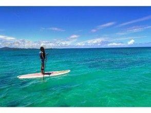 【沖縄北部、SUP】 沖縄西海岸!!きれいな天然ビーチでSUP体験プラン☆写真サービス付き