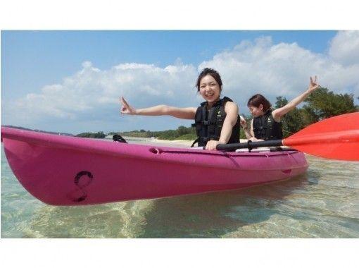 【沖縄北部、本部町、シーカヤック】美ら海水族館近く! 沖縄の自然を満喫!のんびりカヤックツアー☆