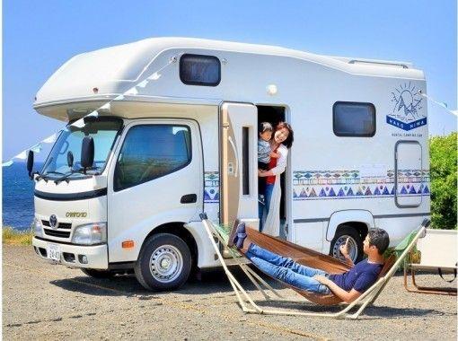 【神奈川県・葉山町・キャンピングカーレンタル】本間亮次氏による車体デザインはアートと遊びへの入り口