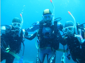 [Izu] diving license [PADI Open Water Diver course ① The image of