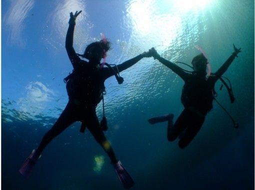 最安値!!【沖縄・青の洞窟ダイビングシンプルコース】水中写真・餌付け動画付きロングコースも大人気!!
