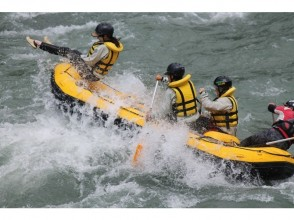 [Kumamoto Hitoyoshi] Strong sunshine, this is cool & thrill! ! Kumagawa Rafting PM (half-day) Course ★ with photo data