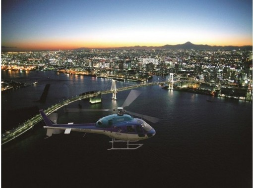 【千葉・浦安】TOKYOナイトクルーズ(ヘリコプタークルージング) 浦安ヘリポート発着 平日プラン